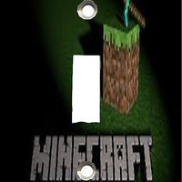 Personalized Minecraft Light Switch and/or Outlet Covers  Mine Craft