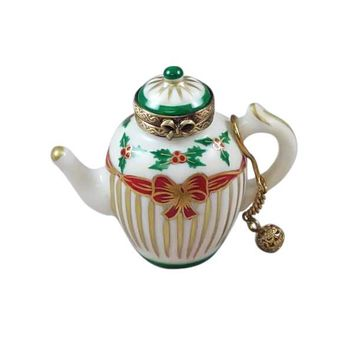 Christmas Tea Pot Limoges Boxes