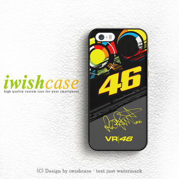 Valentino Rossi Vr46 Movistar Yamaha Motogp iPhone 4 | 4S Case Cover