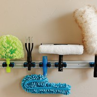 Extendable Pole Cleaning System Holder