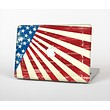 """The Vintage Tan American Flag Skin Set for the Apple MacBook Pro 15"""" with Retina Display"""