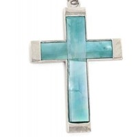 MOONSTONE CROSS NECKLACE - YOUNG, INSPIRED & PROPER - ACCESSORIES