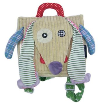 2018 Toddler Corduroy Puppy Back Pack