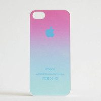 iPhone 5 Case, iPhone 5S Case - Pink to Sky Blue / iPhone 5S Case, iPhone 5S Cover, Cover for iPhone 5S, Case for iPhone 5S
