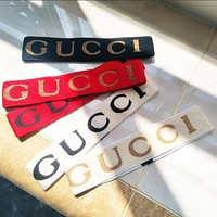"Hot Sale ""GUCCI"" Classic Popular Sport Crochet Knit Knitted Headwrap Headband Warmer Head Hair Band I/A"