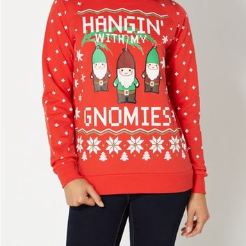 Gnomies Ugly Christmas Sweatshirt