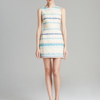 Alice + Olivia Dress - Eli Stripe Tweed