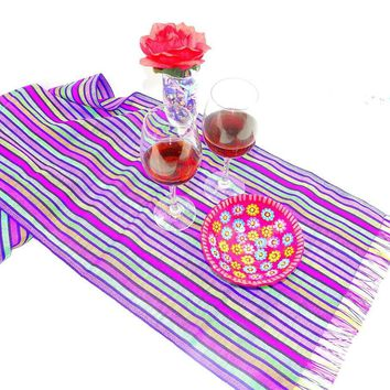 Aztec Fabric, Mexican Table Runner, Mexican Table Decorations, Mexican Themed Wedding, Mexican Dinner Party Decorations.