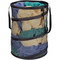 Household Essentials Pop-Up Laundry Hamper, Black - Walmart.com