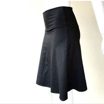 Basic aline skirt  - organic french terry
