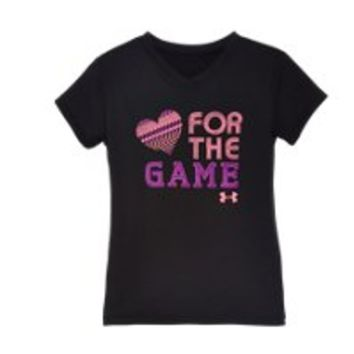 Under Armour Girls' Toddler UA For The Game T-Shirt