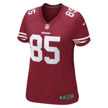 Nike NFL San Francisco 49ers (Vernon Davis) Women's Football Home Limited Jersey