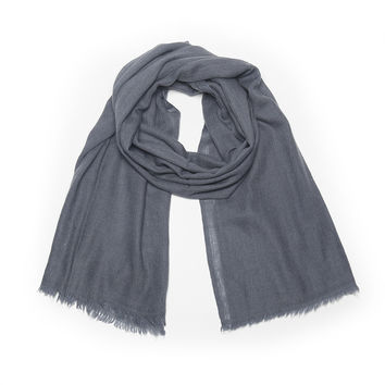 Solid Himalayan Cashmere Scarf