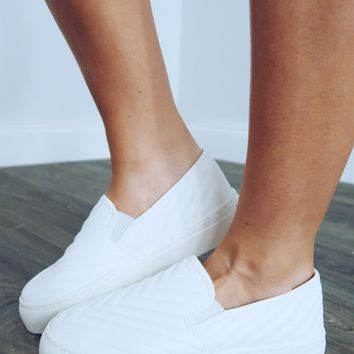 Always On The Run Sneakers: White