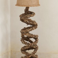 Twisted Twigs Floor Lamp