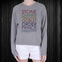 Harry Potter Jumper Stone Chamber Prisoner screenprint sweatshirt, sweater, made from mix polyester cotton, available size S - 3XL