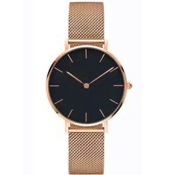 ca DCCKTM4 Great Deal Gift Awesome Good Price Trendy Designer's New Arrival Stylish Fashion Simple Design Stainless Steel Band Watch [11203430343]
