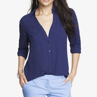 the convertible sleeve portofino shirt from EXPRESS