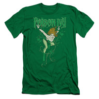 DC/POISON IVY - S/S ADULT 30/1 - KELLY GREEN - SM