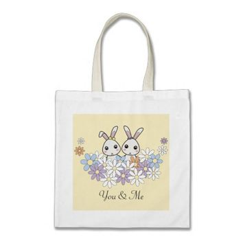 Easter Bunny Egg Hunt Bags for Little Girls: Gift Idea for Girl Twins, Sisters, or Best Friends