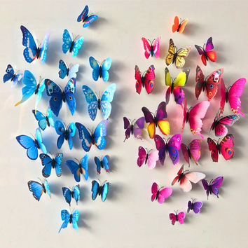 Best pink and black bathroom decor products on wanelo for Kitchen cabinets lowes with pink 3d butterfly wall art