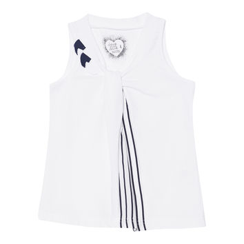 Deux Par Deux Jolie Daisy Sleeveless Top Size 2-12 Years