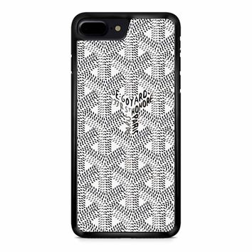 Goyard Black White iPhone 8 Plus Case