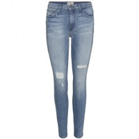 current/elliott - the high waist ankle skinny jeans