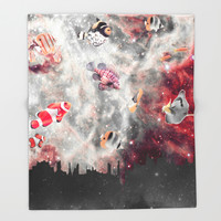 Parallel dimensions Throw Blanket by Octavia Soldani | Society6
