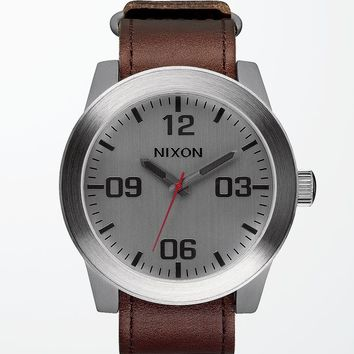 Nixon Porter Leather Watch at PacSun.com
