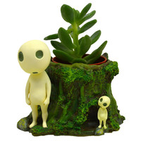 Studio Ghibli Mini Planter: Princess Mononoke - Kodama Forest