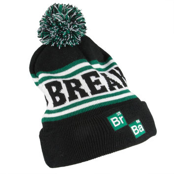 Breaking Bad - Compound Logo Pom Pom Knit Hat