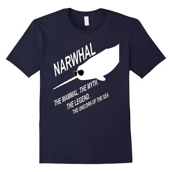 Comfortable & Cool Narwhal Shirt Unicorn Of The Sea T-Shirt