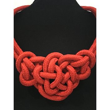 Nautical Knot Necklace and Bracelet