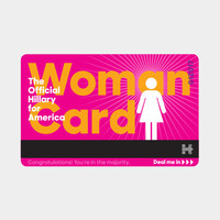 The Official 'Woman Card'