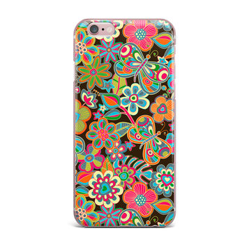 "Julia Grifol ""My Butterflies & Flowers"" iPhone Case"