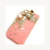iPhone 4 Case, iPhone 4s case, iPhone 5 Case, Bling iPhone 4 case, cute iphone 4 case, iphone 5 bling case, bow iPhone 4 case, iphone 5