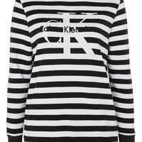 Striped Sweatshirt by Calvin Klein | Topshop
