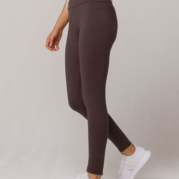 FULL TILT High Waisted Charcoal Womens Leggings