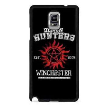 supernatural demon hunters for samsung galaxy note 4 case