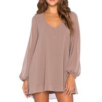 Show Me Your Mumu Donna Michelle Tunic in Dune