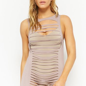Ladder Cutout Dress
