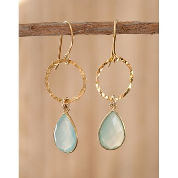 Dangle Gold Vermeil Earrings
