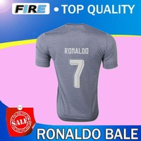 Thai  Cristiano Ronaldo soccer Jerseys Sports shirt  maillot de foot James Rodriguez Benzema bale Soccer Jerseys football shirts
