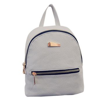 THE XANADU™ - Women's Small Leather Travel Backpack