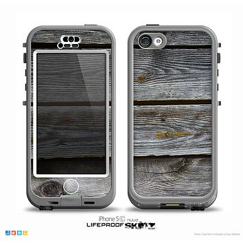 The Aged Wood Planks Skin for the iPhone 5c nüüd LifeProof Case
