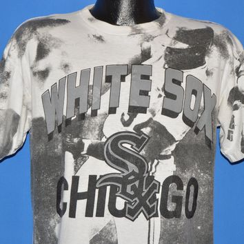 90s Chicago White Sox Print All Over t-shirt Large