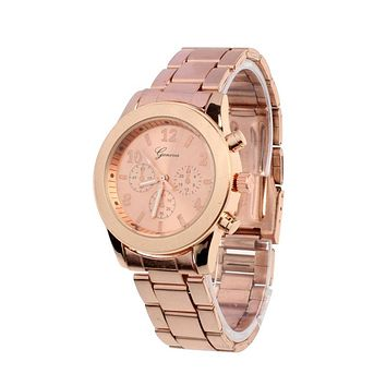Xiniu Watch Women Gold Watch Ladies Stainless Steel Quartz Wrist Watch Reloj Women Clock Dress Watches Relojes Mujer #YW