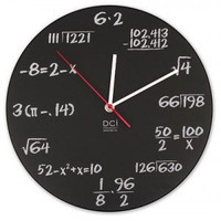 Pop Quiz Wall Clock - MathScience - Gifts for Geeks