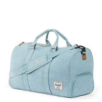 herschel supply co. - novel 20 oz. heavy canvas duffle bag (grey blue) - Herschel Supply Co. | 80's Purple